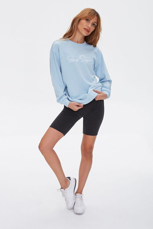 Embroidered Sunny Days Pullover, image 4