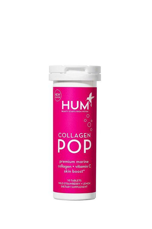 WILD STRAWBERRY/LEMON Hum Nutrition Collagen Pop – Wild Strawberry + Lemon Dietary Supplement, image 1