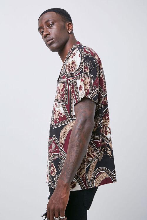 Classic Fit Paisley Shirt, image 2