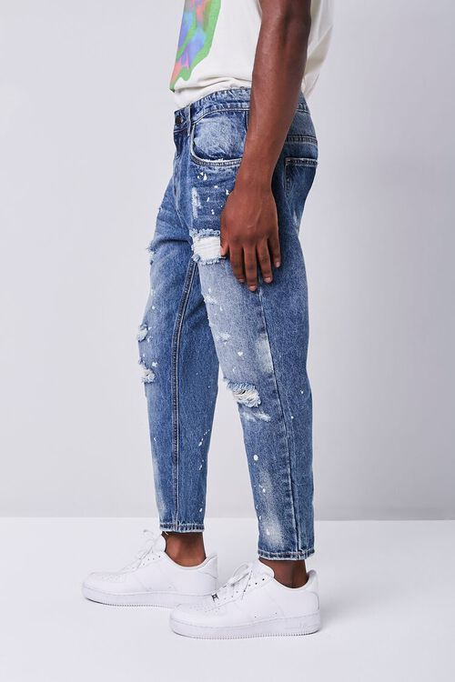 Paint Splatter Distressed Ankle Jeans, image 2