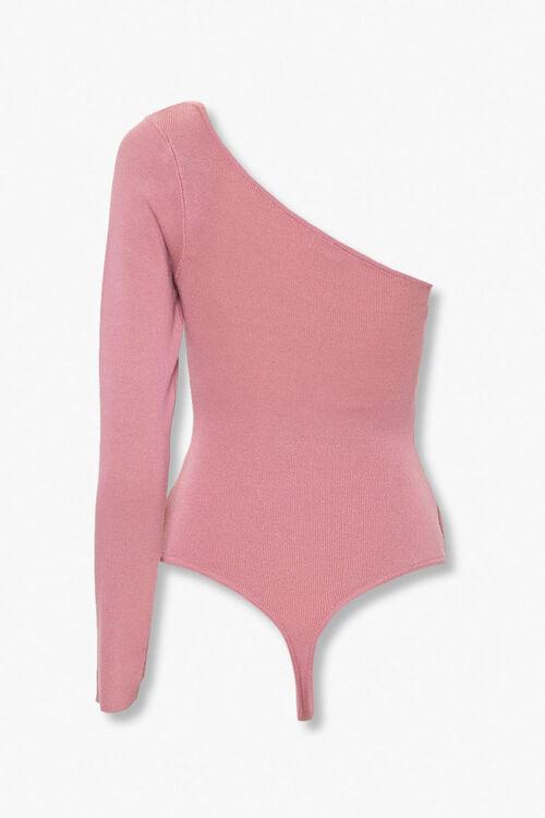One-Shoulder Thong Bodysuit, image 4