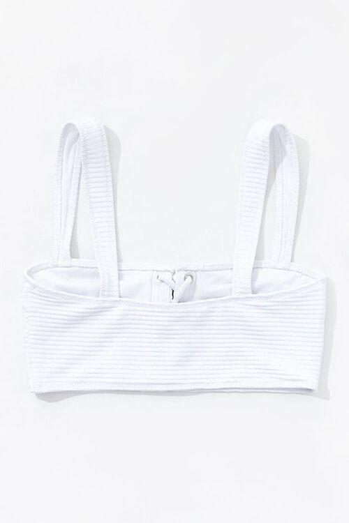 Lace-Up Bikini Top, image 2