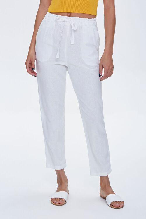 Linen Ankle Pants, image 2