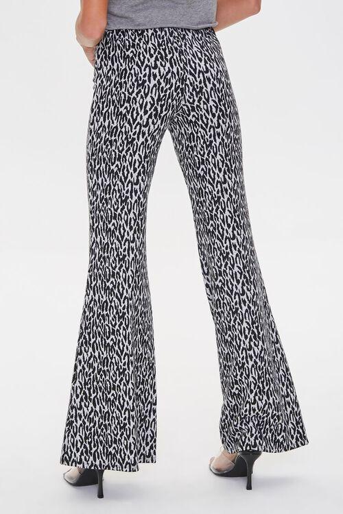 Leopard Print Flare Pants, image 4
