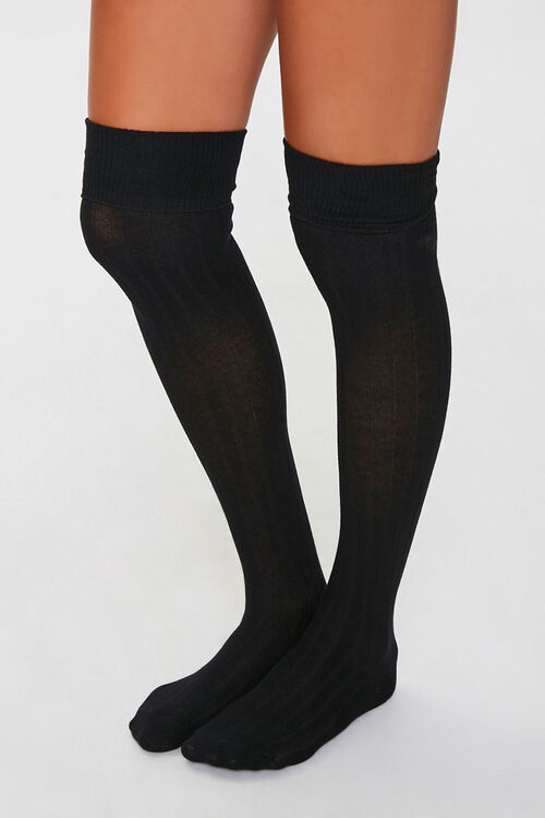 Ribbed Over-the-Knee Socks Pack, image 1