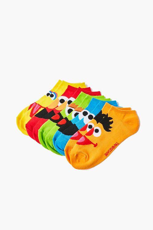Sesame Street Graphic Ankle Socks - 5 Pack, image 2