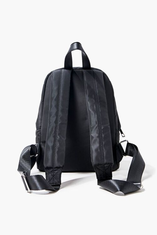Quilted Zip-Up Backpack, image 3