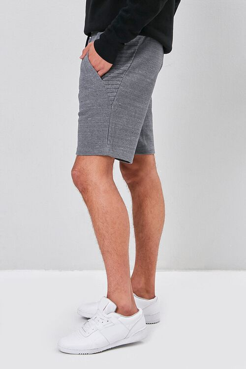 Marled Drawstring Shorts, image 2