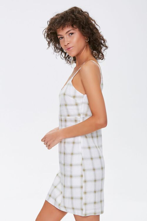 Plaid Cami Mini Dress, image 2