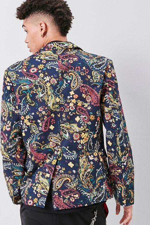 Ornate Paisley Print Blazer, image 3
