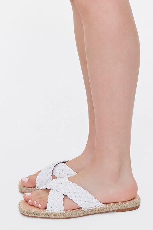 Crisscross Espadrille Flatform Sandals, image 2