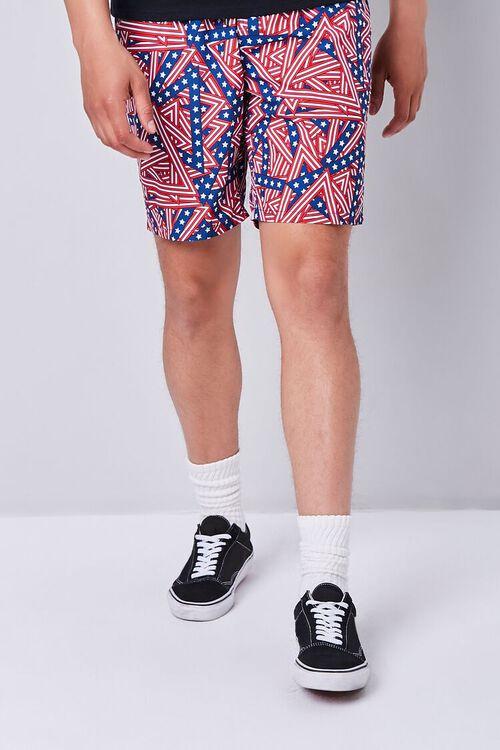Mr. Swim Stars & Stripes Swim Trunks, image 2