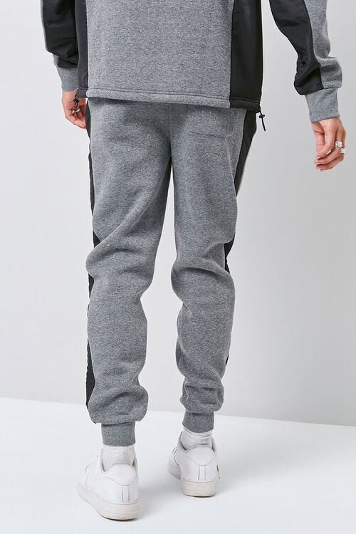 Heathered Colorblock Joggers, image 4