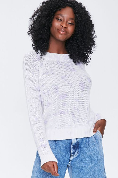 Cloud Wash Open-Knit Sweater, image 1
