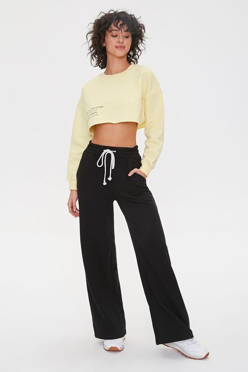 Be Loyal To Your Future Cropped Pullover, image 4
