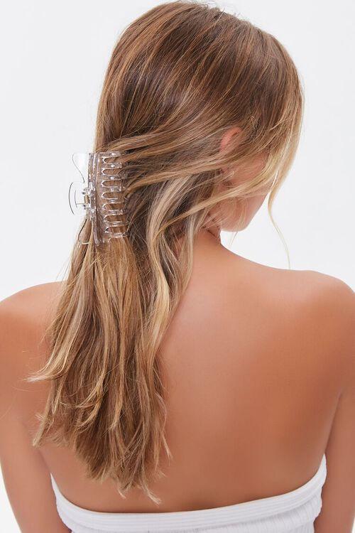 Clear Hair Claw Clip, image 1