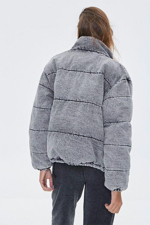 Denim Puffer Jacket, image 4