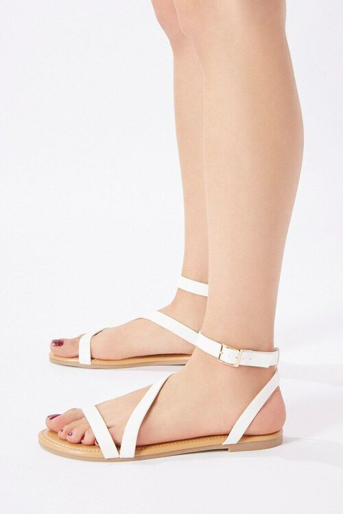 Caged Flat Sandals, image 3