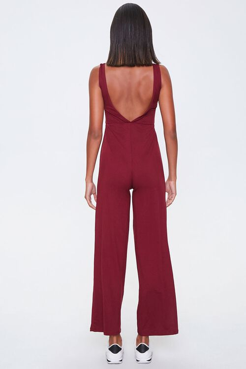 Knotted Cutout Jumpsuit, image 3