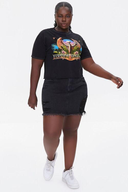Plus Size Earth Wind & Fire Graphic Tee, image 4