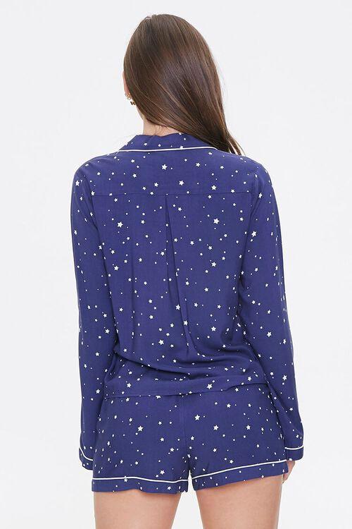 NAVY/WHITE Star Print Pajama Set, image 3