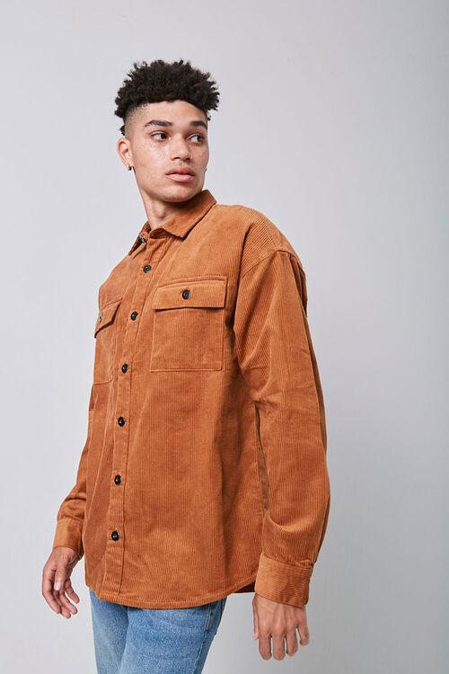 Corduroy Button-Down Jacket, image 1