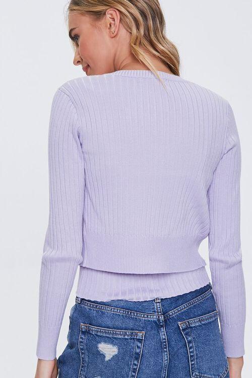 Ribbed Cardigan Sweater & Cami Set, image 3