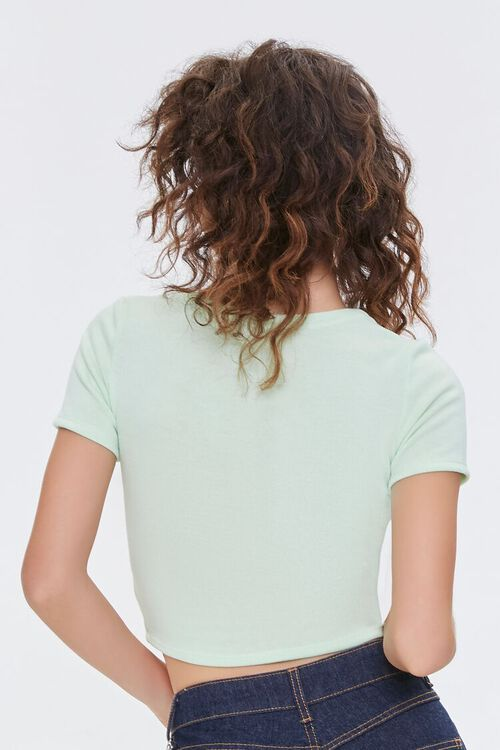 Button-Front Cropped Top, image 3