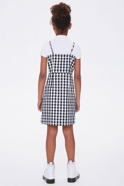 Girls Gingham Cami Dress (Kids), image 2