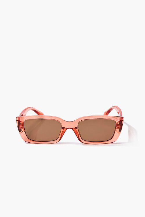 Semi-Translucent Rectangle Sunglasses, image 1