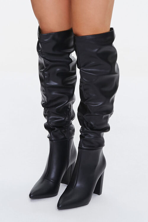 Slouchy Knee-High Boots, image 1