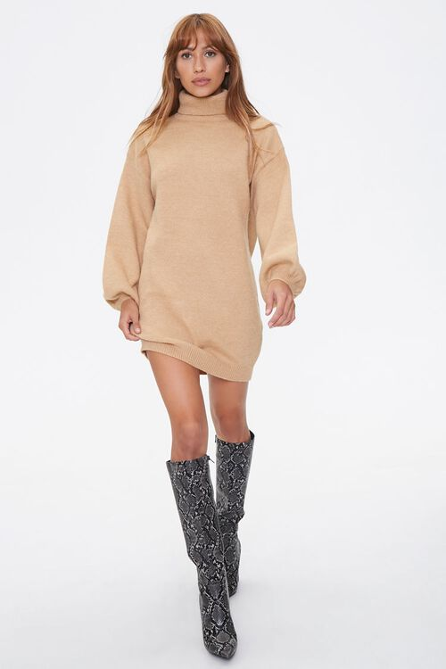 Turtleneck Sweater Dress, image 4