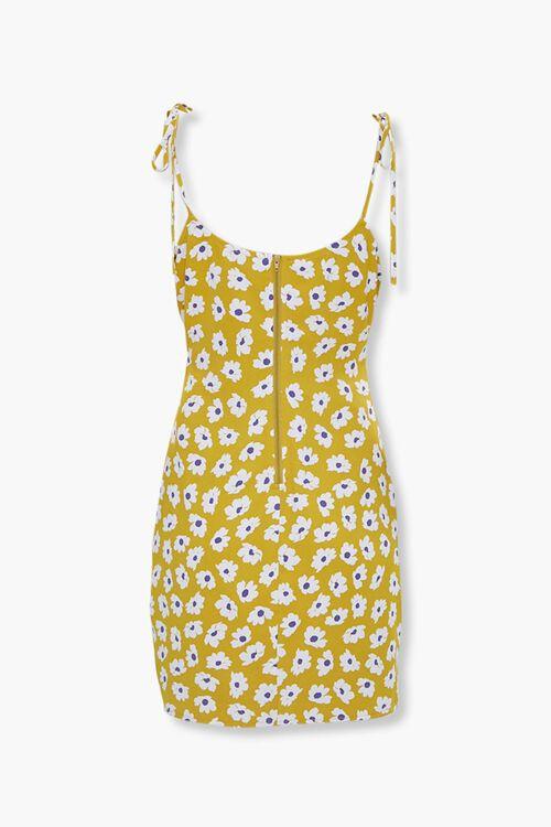 Floral Tie-Strap Mini Dress, image 2