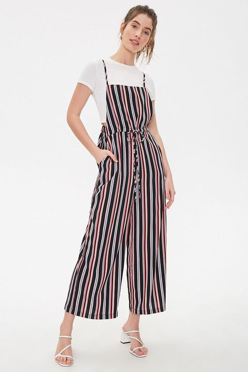Striped Cami Jumpsuit, image 4