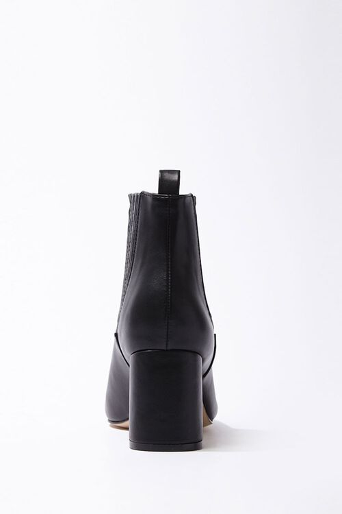 Faux Leather Booties, image 2