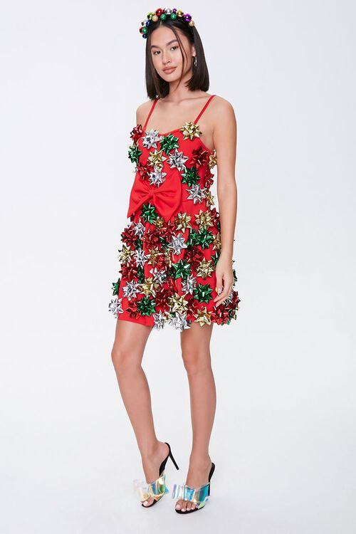Holiday Bow Cami Dress, image 4