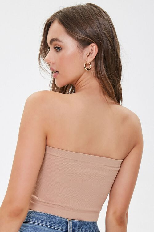 Seamless Cropped Tube Top, image 3