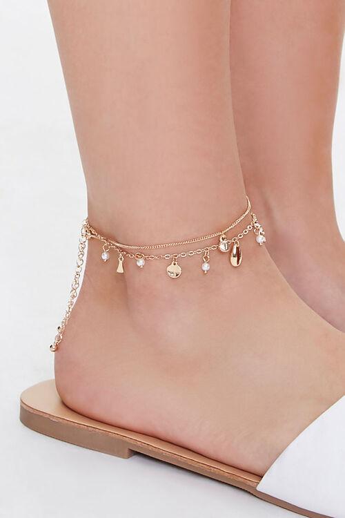 Faux Seashell Anklet Set, image 2