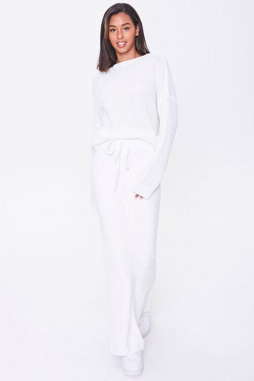 CREAM Sweater-Knit Flare Pants, image 5
