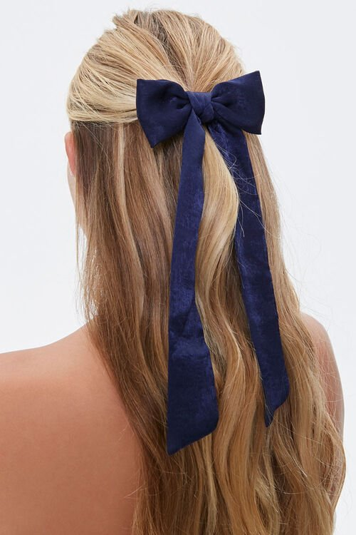 Bow Barrette Hair Clip, image 1