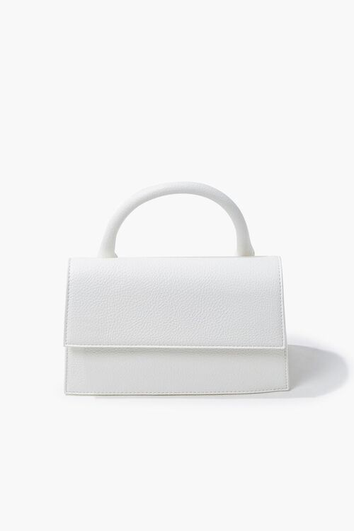 Structured Flap-Top Crossbody Bag, image 1