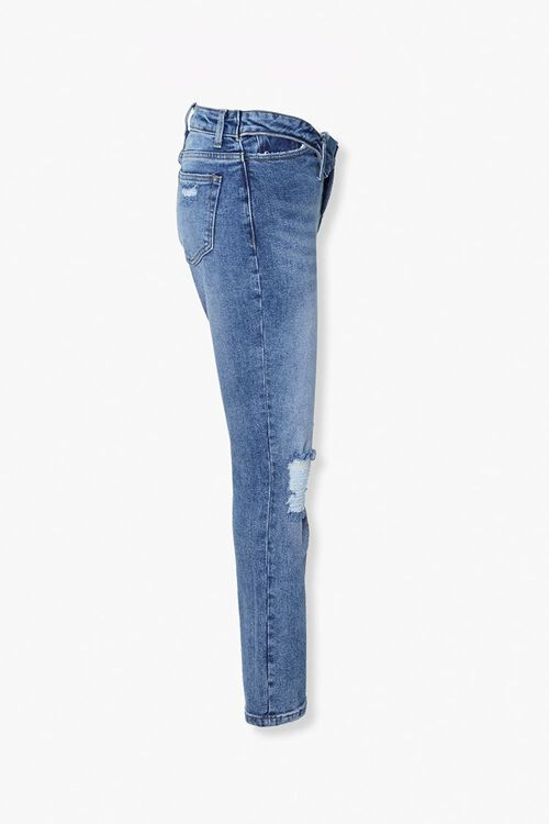 Distressed Foldover Jeans, image 2