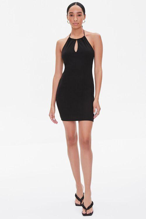 Halter Mini Dress, image 4