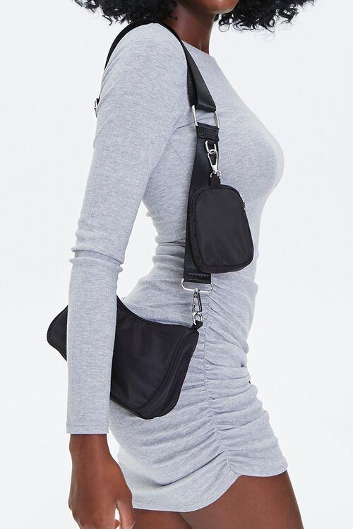Zip-Up Crossbody Bag & Phone Case, image 1