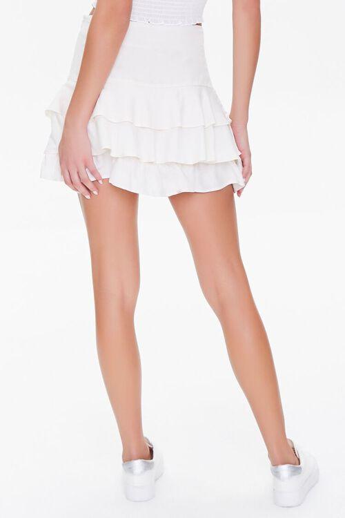 Ruffled Linen-Blend Mini Skirt, image 4