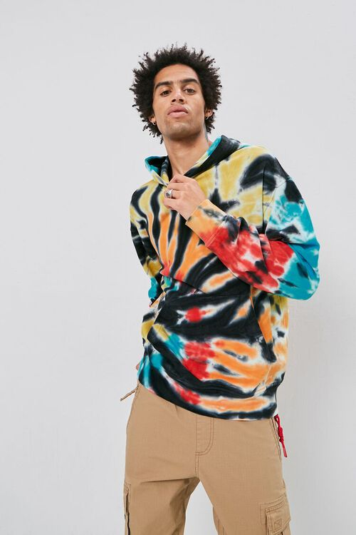 Tie-Dye French Terry Hoodie, image 5