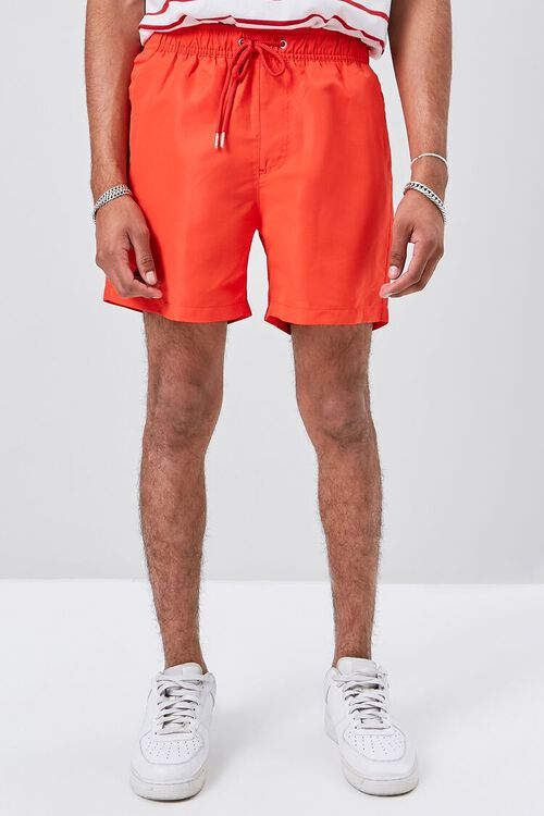 Drawstring Swim Trunks, image 2