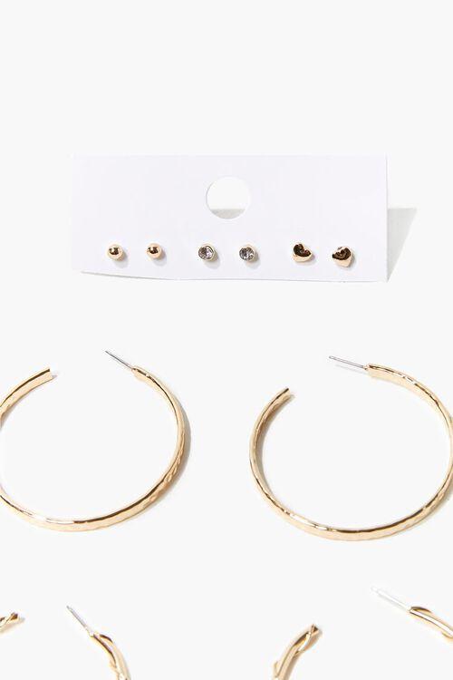 Twisted Hoop & Stud Earring Set, image 2