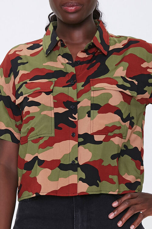 Camo Print Shirt, image 5