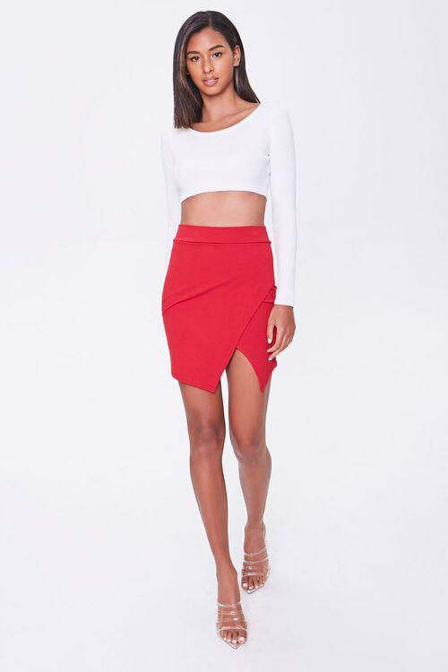 Tulip-Hem Mini Skirt, image 4